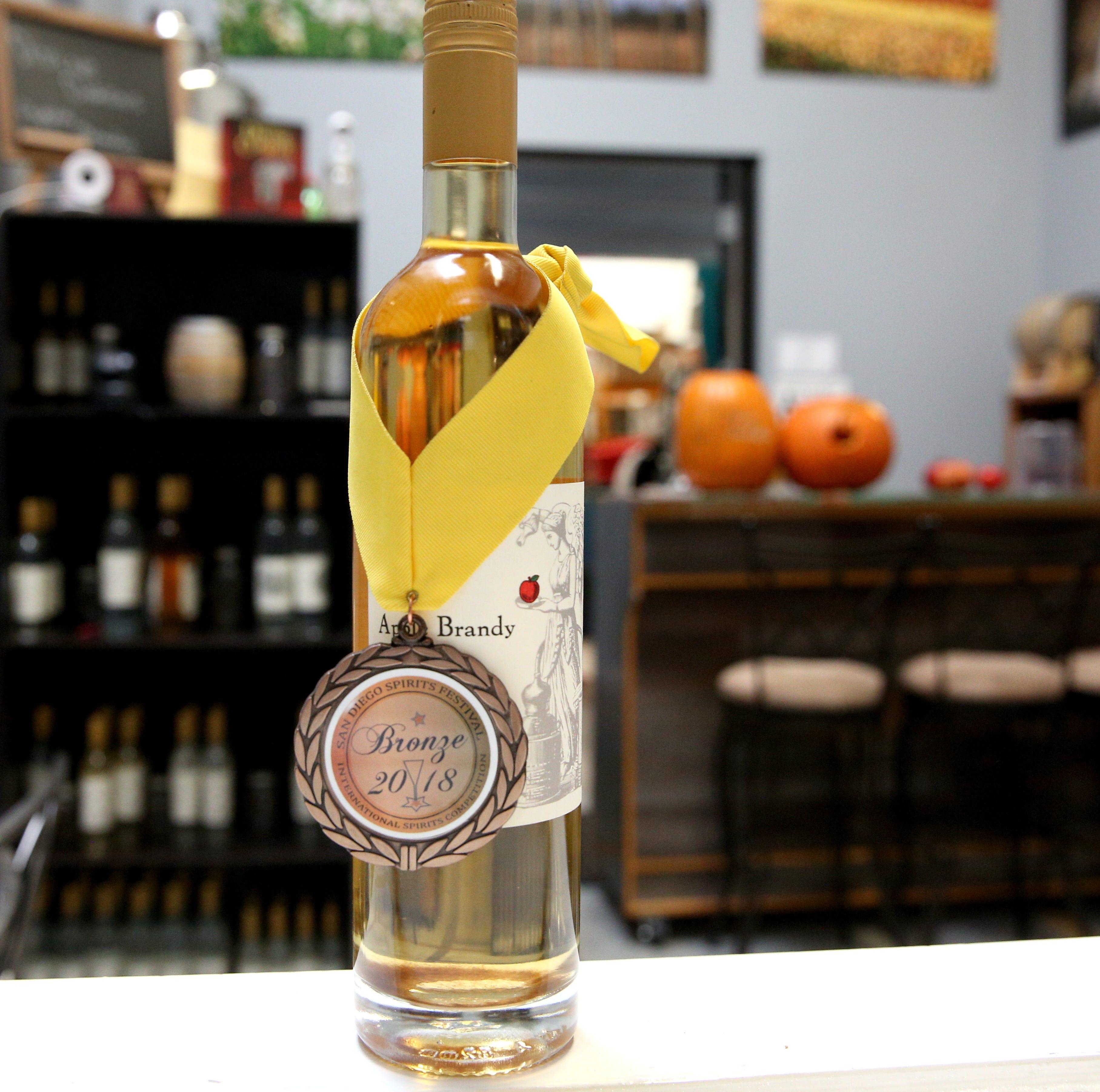 Salem's first brandy distillery uses Willamette Valley fruit