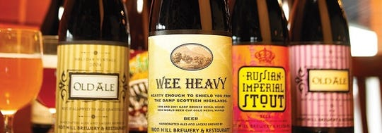 Iron Hill's Wee Heave brew is an award-winning ale.
