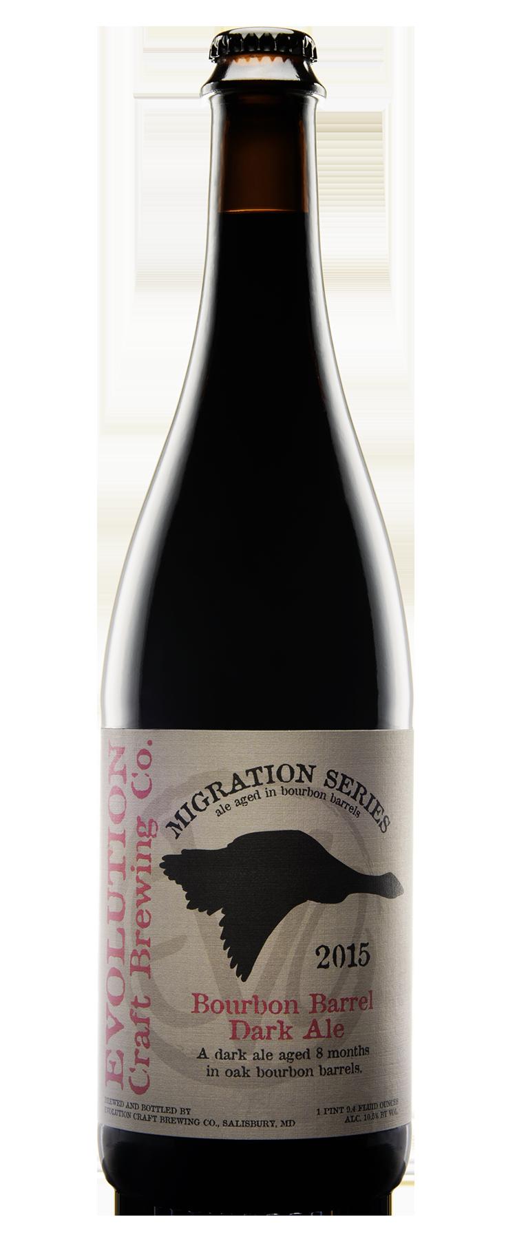 Evolution's Bourbon Migration strong ale.