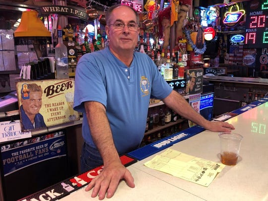 """Don Carley, owner of The Steakhouse bar and restaurant in downtown Philip, S.D., is cautiously optimistic about the arrival of the Keystone XL Pipeline and the crew of more than 1,000 workers who will arrive to build it. Carley worries if the town's infrastructure can handle the influx but added, """"You'll always have people who want to go have some drinks and a good meal."""""""