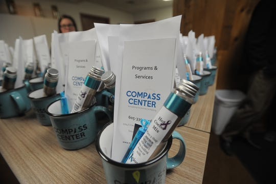 The Compass Center formally unveils its new location near 26th Street and Cleveland Avenue.