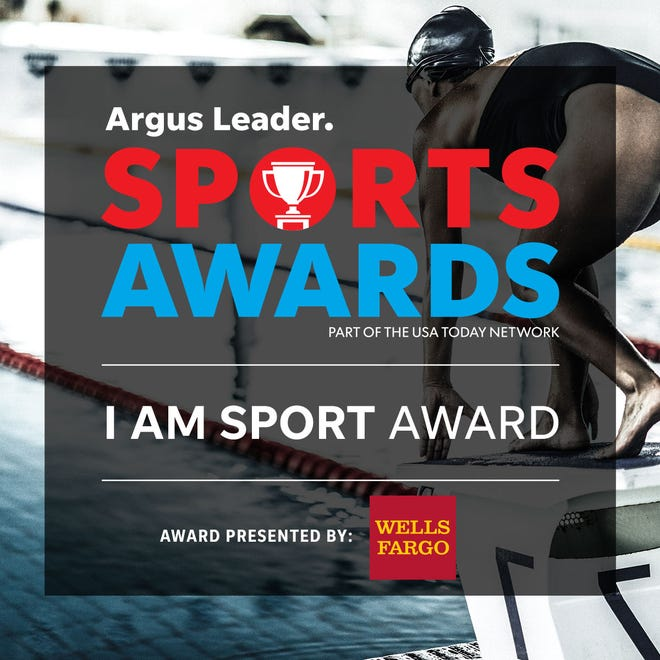 The award will presented as part of the Argus Leader Sports Awards on May 10.