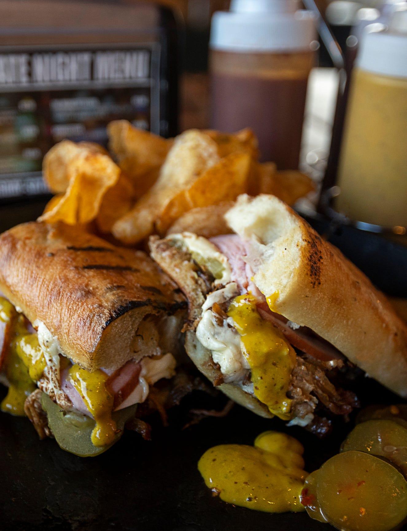 Bar-B-Cuban sandwich