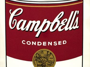 Seven Andy Warhol prints were stolen from the Springfield Art Museum in 2016, including a print of a can of Campbell's Tomato Soup. No one has been arrested.