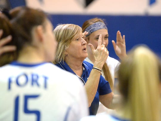 Fort Defiance volleyball coach Sue Leonard thinks year-round practice has led to burnout for some coaches.