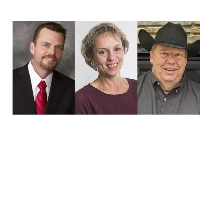 Three candidates vie to replace Jim Newberger's seat in District 15B race
