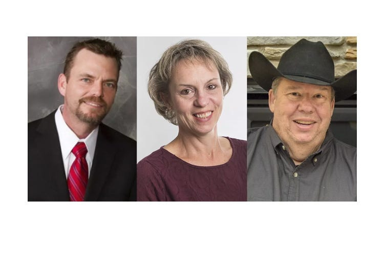 Shane Mekeland , Karla Scapanski and Myron Wilson are running to become state representative in District 15B, a seat held by Jim Newberger.