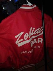Bonnie Zurawski's Zodiac Jacket. Her brother Al said she came up with the name of the Zodiac Bar.