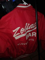 Bonnie Zurawski's Zodiac Jacket. Her brother Al said she came up with the name of the Zodiac Bar.