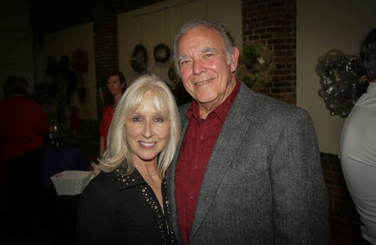 Jack Poitinger and his wife Beth White in a 2015 file photo.