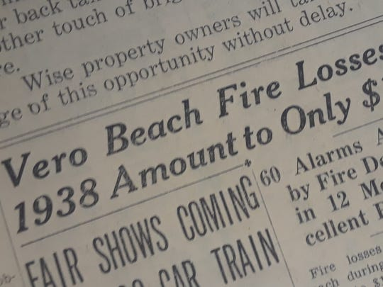 Fire losses in 1938 were less than expected.