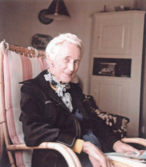 "Ruth Hallstrom lived nearly the entire 20th century in the iconic brick house her father Axel Hallstrom built on what was then called the ""Golden Ridge,"" south of Vero Beach."