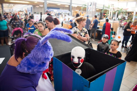 Fun, family-friendly Halloween events and things to do, such as Mall-O-Ween at the Indian River Mall, can be found Thursday across the Treasure Coast.