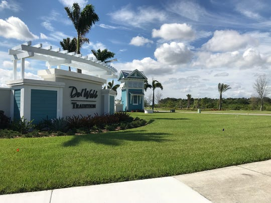 Pulte Home Company is building Del Webb Tradition, a 55-plus community, on Village Parkway in western Port St. Lucie.