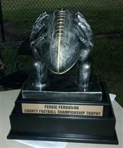 The Fergie Ferguson County Football Championship trophy is on the line Friday when Martin County plays at Jensen Beach.
