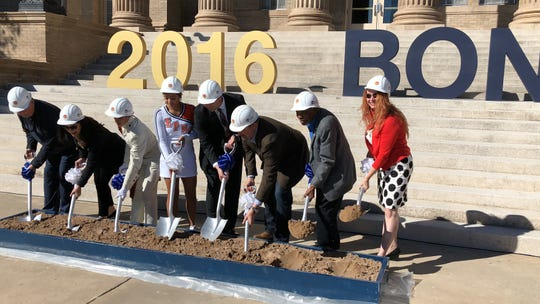 Construction and renovations on El Paso High School officially kicked off Thursday with a groundbreaking at the historic school, at 800 Schuster in Central El Paso.