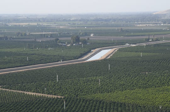Friant-Kern Canal delivers 1 million acre-feet of water to farmers throughout the San Joaquin Valley. It is sinking at a dramatic rate, but Proposition 3 could help fund necessary repairs.