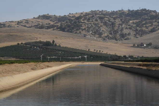 Friant-Kern Canal delivers 1 million acre-feet of water to farmers throughout the San Joaquin Valley. It is sinking at a dramatic rate, but Proposition 3 would provide $750 million in funding for necessary repairs.