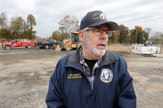Yorktown Town Supervisor Ilan Gilbert at the Granite Knolls sports complex in Yorktown.