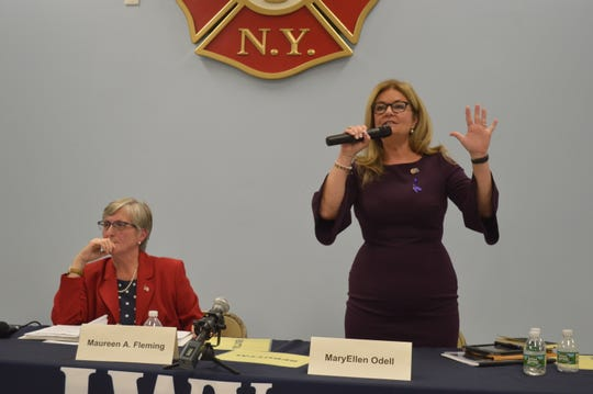 Putnam County Executive MaryEllen Odell said that donations from Motorola Solutions, Inc. had no influence on county policy.