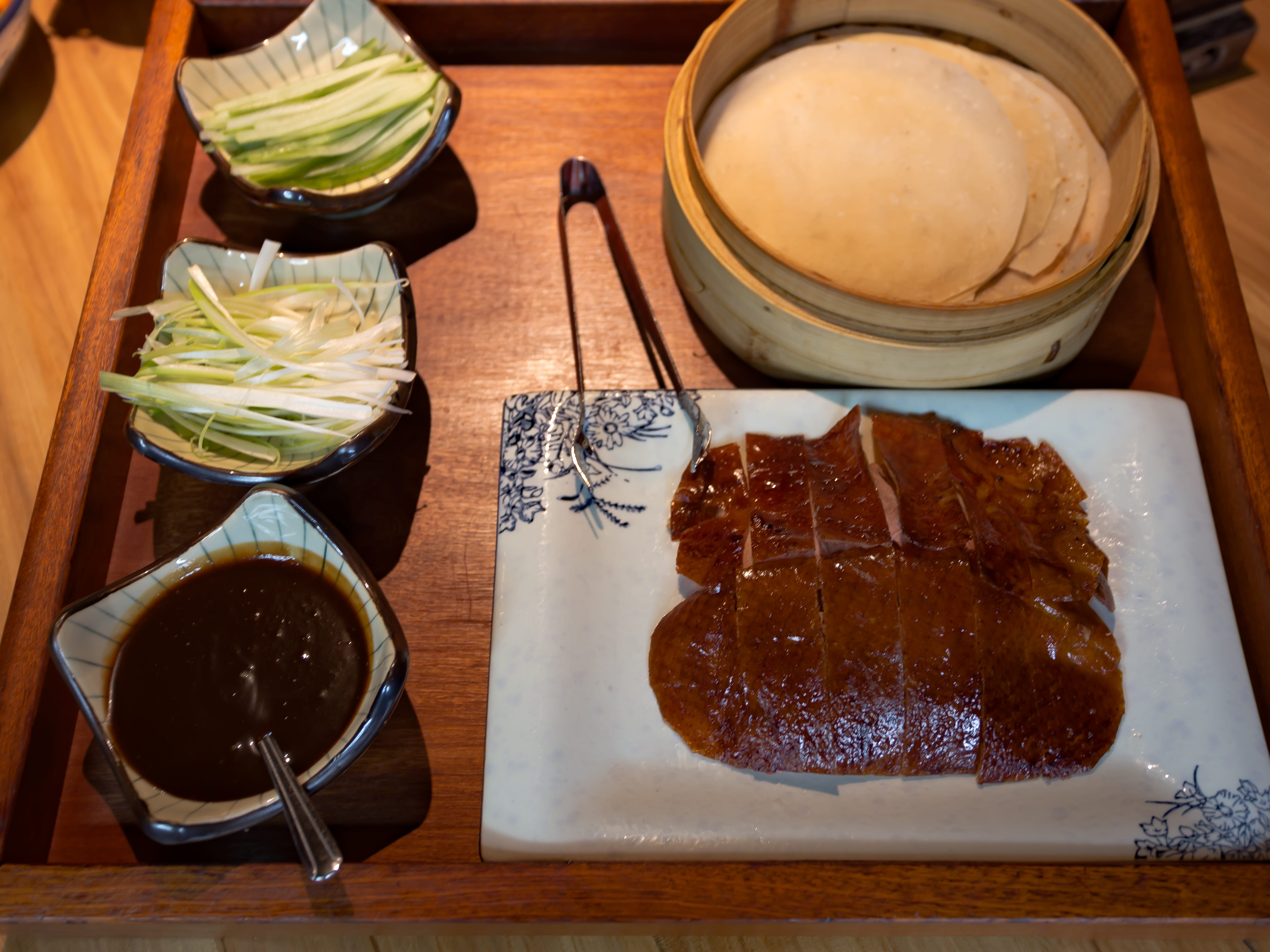 Peking Duck at O Mandarin Restaurant in Hartsdale.