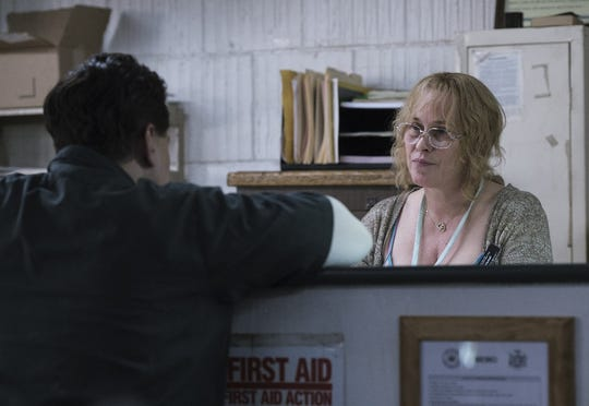 "Patricia Arquette as Tilly in ""Escape at Dannemora,"" a new Showtime series directed by Ben Stiller."