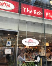 The Red Flame is an old-fashioned NYC coffee shop serving everything from omelettes to lasagna.