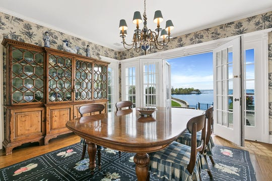 A waterfront estate at 203 Hommocks Road in the village of Mamaroneck has been sold for $10.3 million.