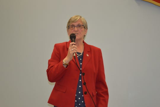 Kent Supervisor Maureen Fleming says campaign donations from Motorola Solutions to the campaign of Mary Ellen Odell indicate a pay-to-play attitude in Putnam County government.