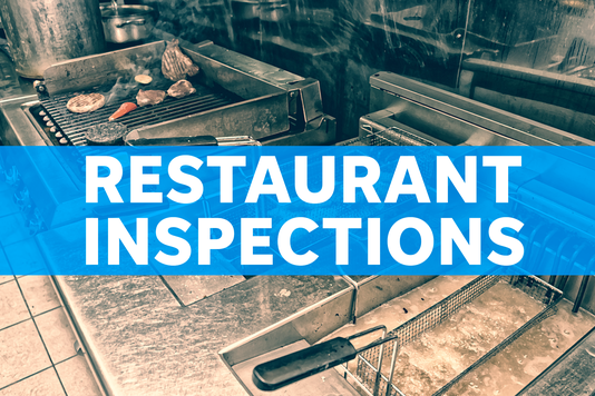 Restaurant inspections stock image #stock