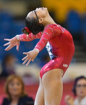 Morgan Hurd is among the gymnasts scheduled to come to Milwaukee's Fiserv Forum this weekend for the American Cup competition.