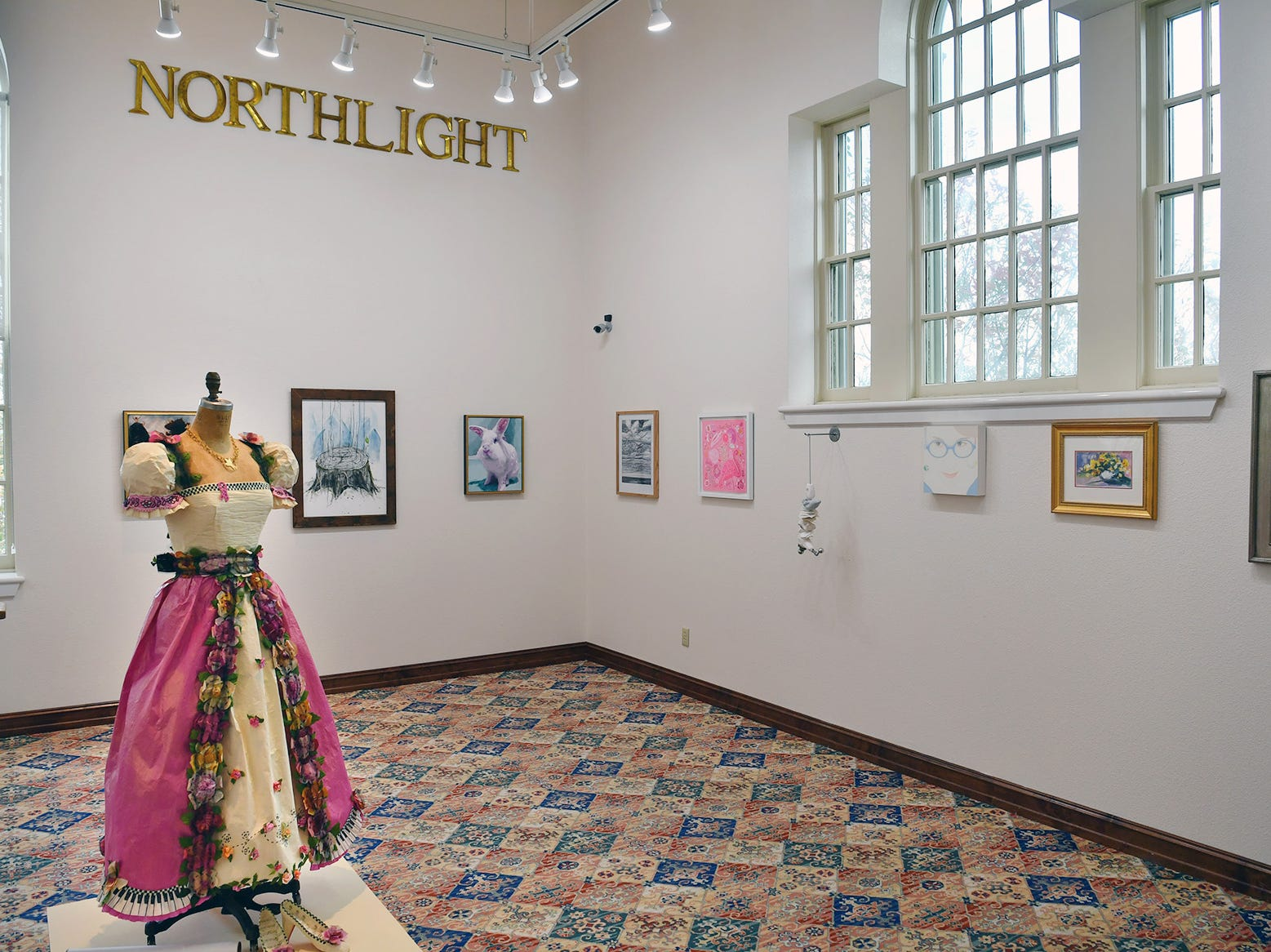 """Pink"" is the new exhibit opening Friday in the Northlight Gallery of the Kemp Center for the Arts. The exhibit celebrates more than 50 female artists, all with connections to Midwestern State University or Wichita Falls."