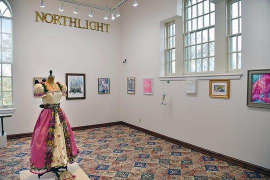 """""""Pink"""" is the new exhibit opening Friday in the Northlight Gallery of the Kemp Center for the Arts. The exhibit celebrates more than 50 female artists, all with connections to Midwestern State University or Wichita Falls."""