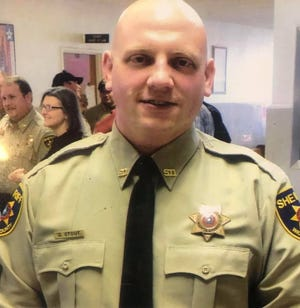 David Austin Stout, a deputy with the Wichita County Sheriff's Office, desperately needs a liver transplant. A fundraiser will be held at Texas Night Life Nov. 4.