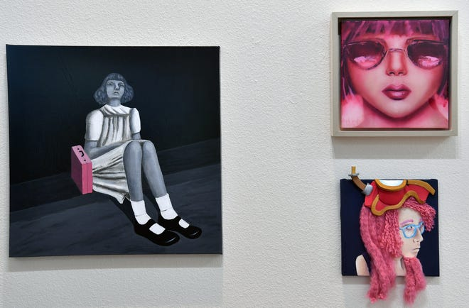 The Kemp Center for the Arts opens its exhibit, Pink, Friday November 2 featuring all female artists, with a wide variety of mediums and styles.