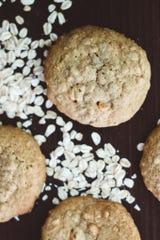 The Kentucky Gent Jim Beam Bourbon Butterscotch Oatmeal Cookies