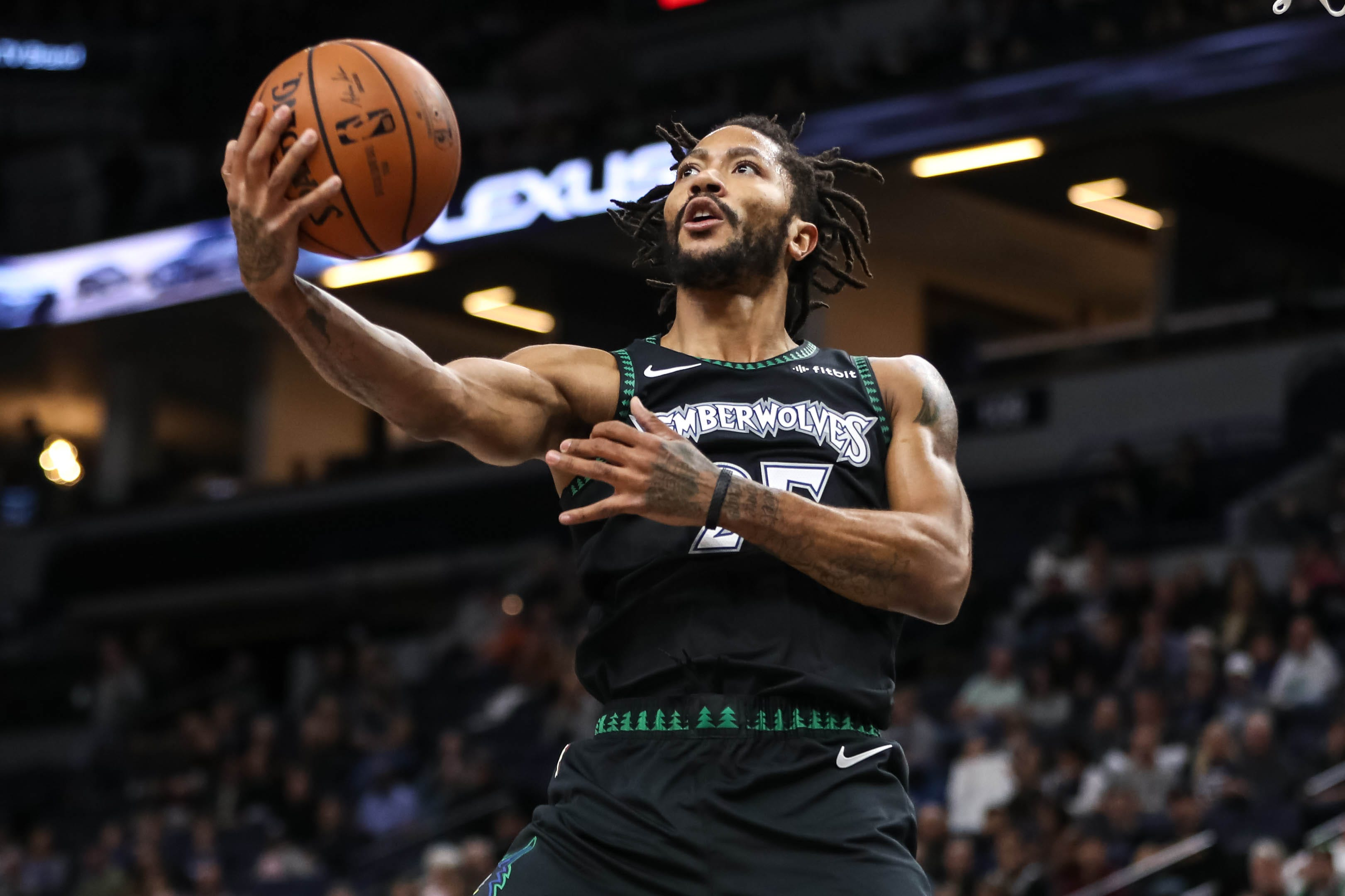 Ex-MVP Derrick Rose delights NBA with career-high 50 points in  Timberwolves  win over Jazz 640e8aa66