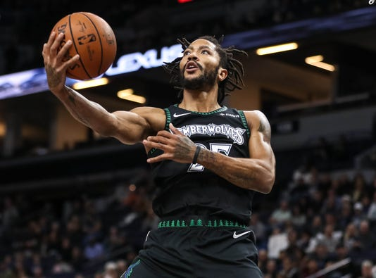 89db01bd1af0 Derrick Rose delights NBA with career-high 50 points