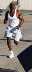 Former San Quentin State Prison convict Markelle Taylor was released in March, and then ran the Boston Marathon in April.