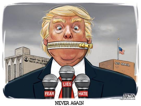 Trump zipper