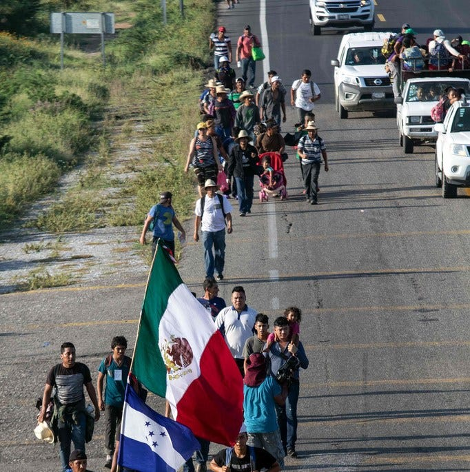 Trump sending troops to block caravan at Mexico border is ultimate waste, fraud and abuse