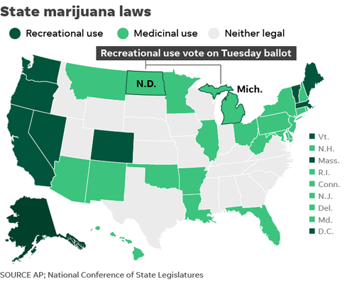 110118 Marijuana Laws By State Online