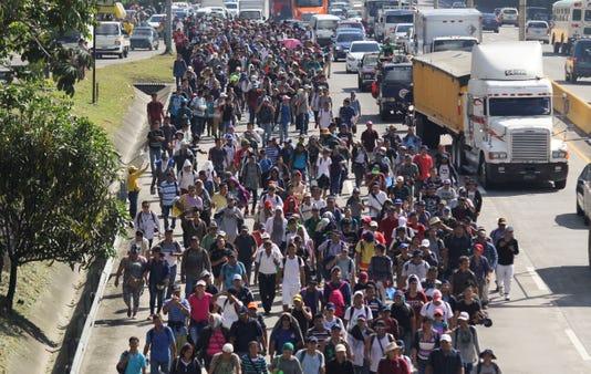 Ap Central America Migrant Caravan I Slv