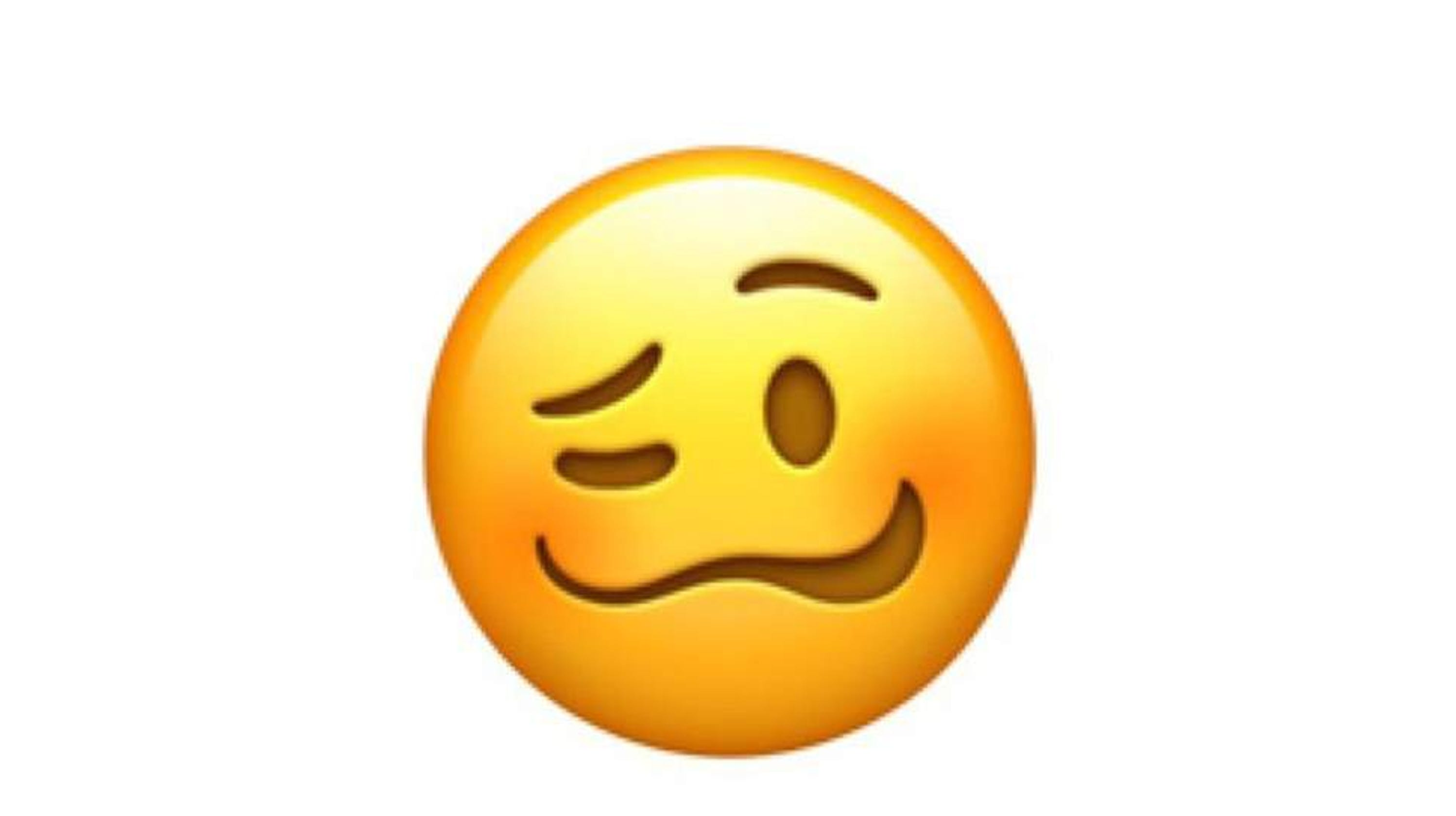 The internet is confused what does the new woozy face emoji mean