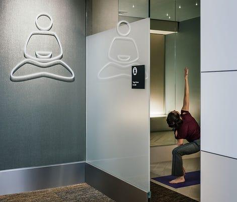 Sfo T3 Yogaroom Courtesy Gensler