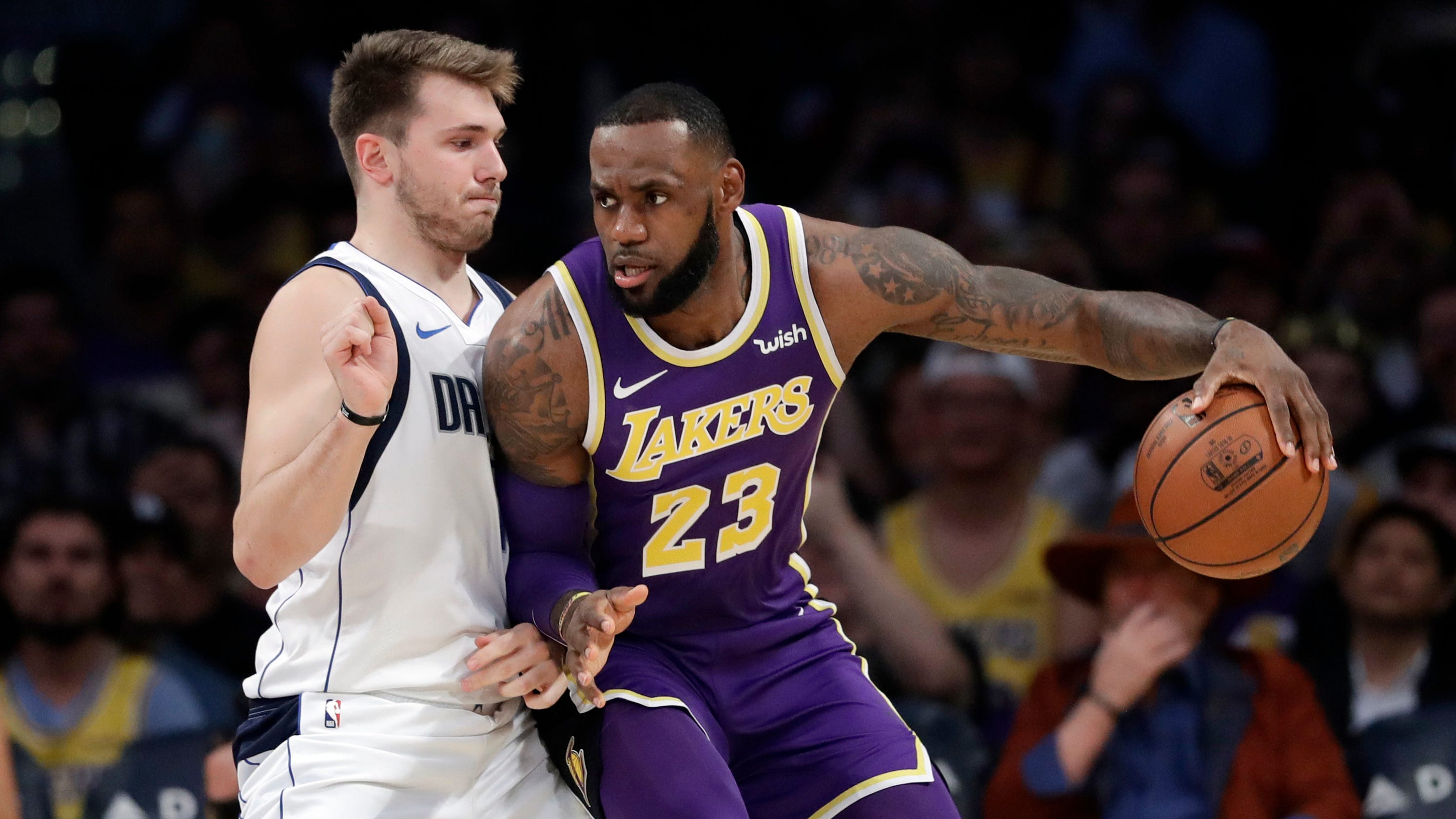 ae7cb3796 Lakers  Disaster averted as L.A. blows 19-point lead