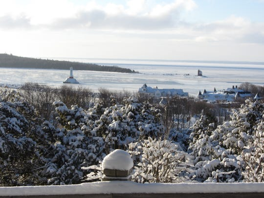 Mackinac Island is especially magical in winter.