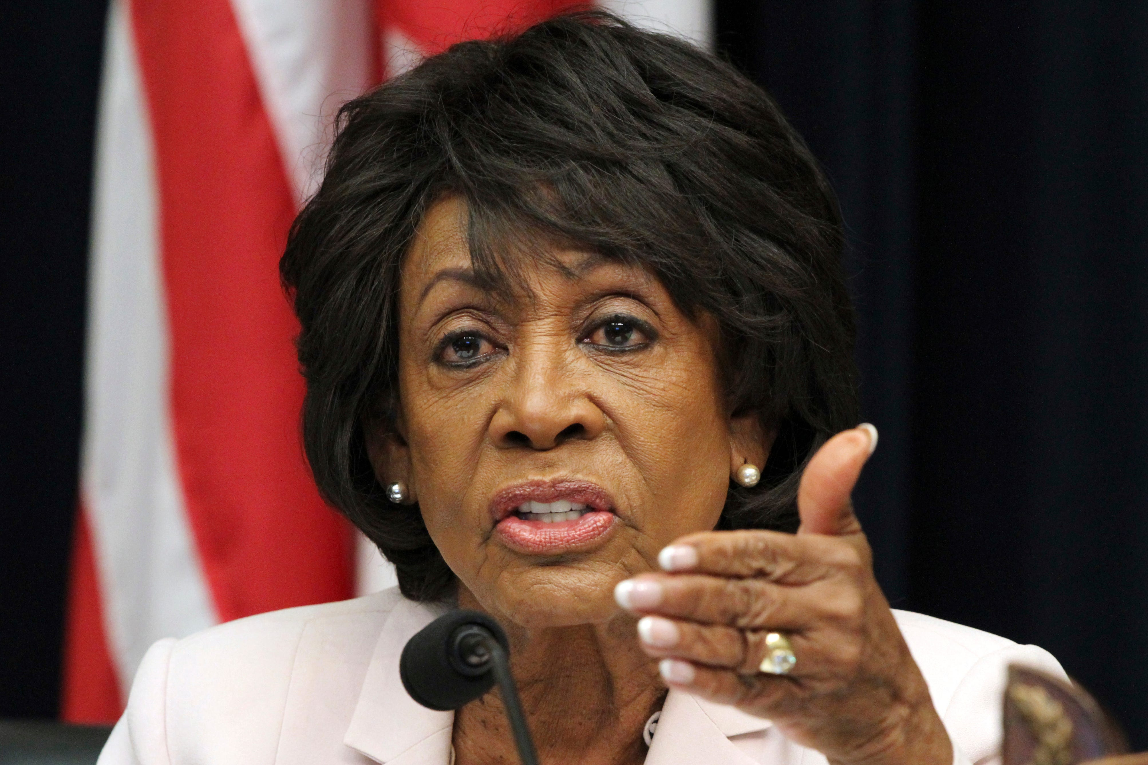 Rep. Maxine Waters: Trump needs to be put 'in solitary confinement'
