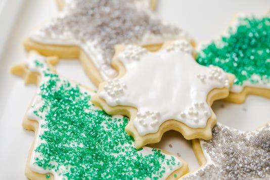 Christmas Cut Out Sugar Cookies 5 Grateful