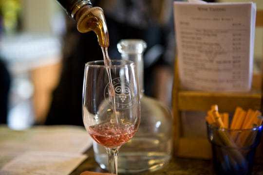 Michigan boasts plenty of wineries that operate all winter long.